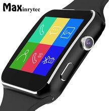 Bluetooth X6 Smart Watch Men Relojes SIM TF Card relogio reloj inteligente Wearable Device Smartwatch For Android Phone