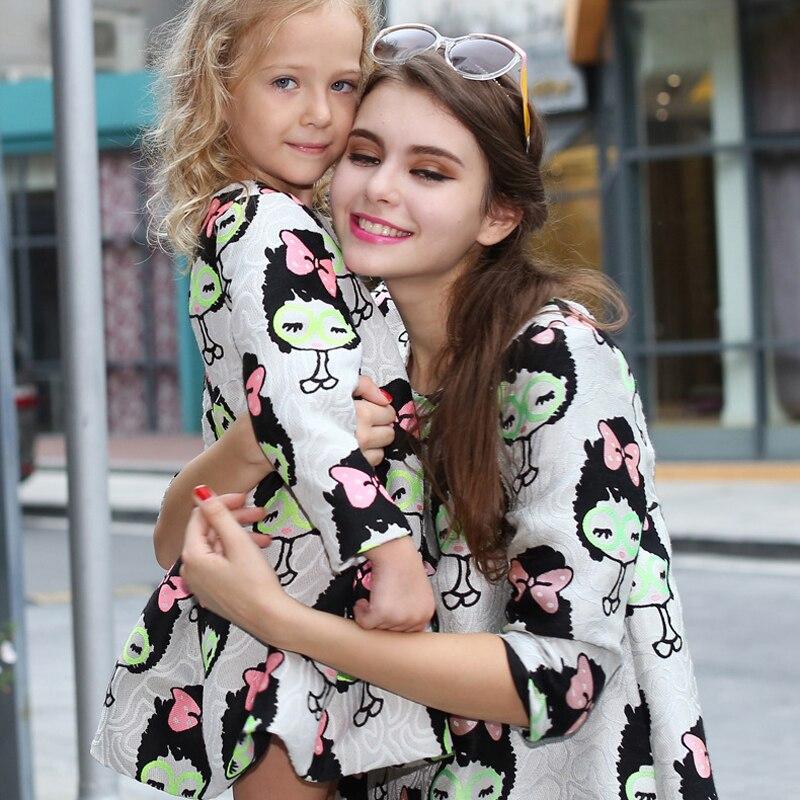 Family dress cartoon Europe and the United States large size pregnant women fashion dress. puzo mario the family puzo