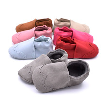 Baby Shoes 2018 Spring Baby Girl Nubuck Shoes Moccasins Soft Footwear for Newborns Baby bebek ayakkabi 7 Colors