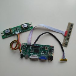 HDMI M. NT68676 ekran 4 lampy CCFL kontroler zestaw deska do LM201WE3-TLH2/LM201WE3 (TL) (H3) 1680*1050 panel LCD VGA DVI 20.1