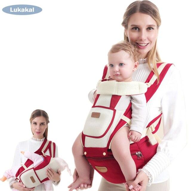 Ergonomic Baby Carrier Backpack Breathable Summer Winter 1 48m Cross
