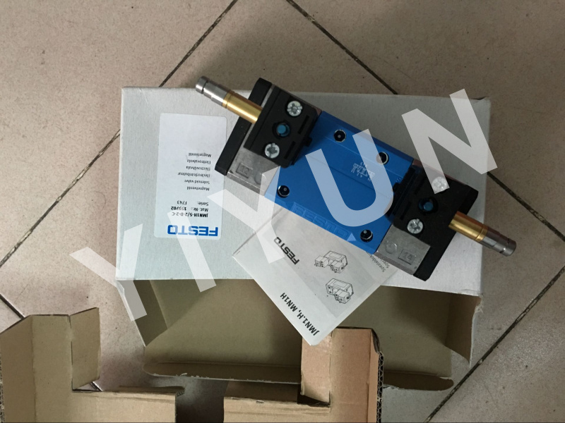 JMN1H-5/2-D-3-C 159714 JMN1H-5/2-D-2-C 159702 JMN1H-5/2-D-1-S-C 159689 FESTO Solenoid valve Pneumatic components pc400 5 pc400lc 5 pc300lc 5 pc300 5 excavator hydraulic pump solenoid valve 708 23 18272 for komatsu