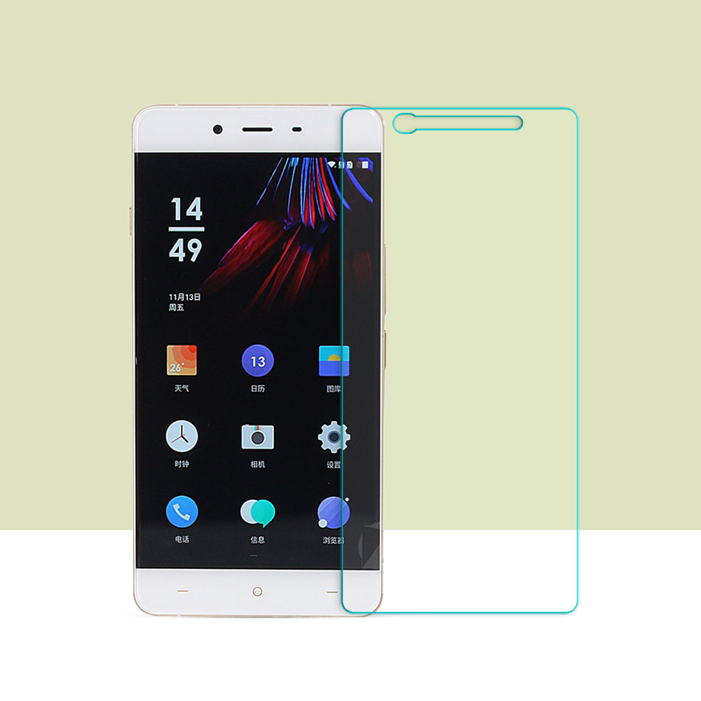 Front Film Tempered Glass For OnePlus X 1+X 2.5D Curved Edge 9H For OnePlus X 1+X Screen Protector Film Glass 0.26mm HD Tempered