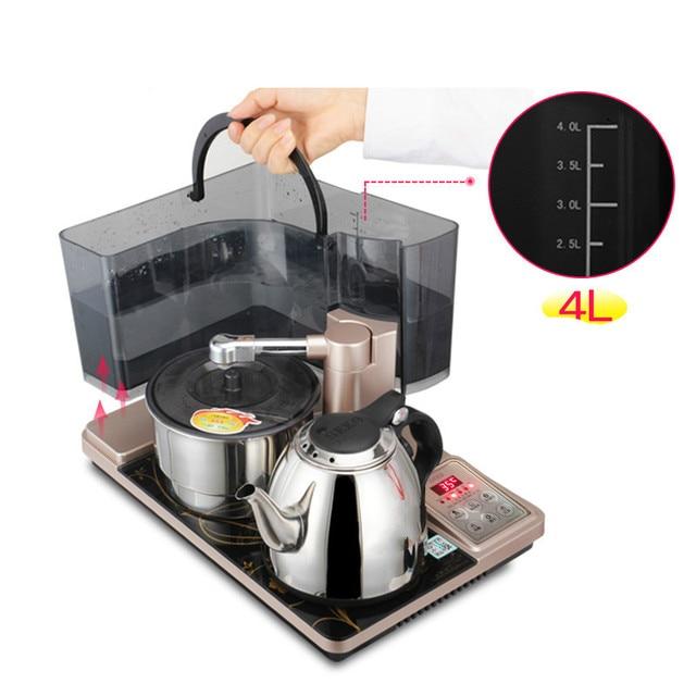 Automatische wasserkocher tee set, hause brauen teekanne in ...