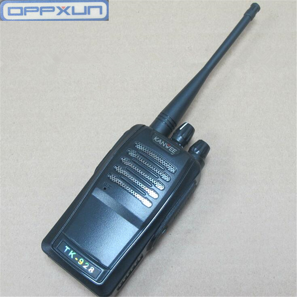 5w kanwee TK-928 rádio em dois sentidos 400-470hmz apropriado para rádios do hotel das propriedades do local