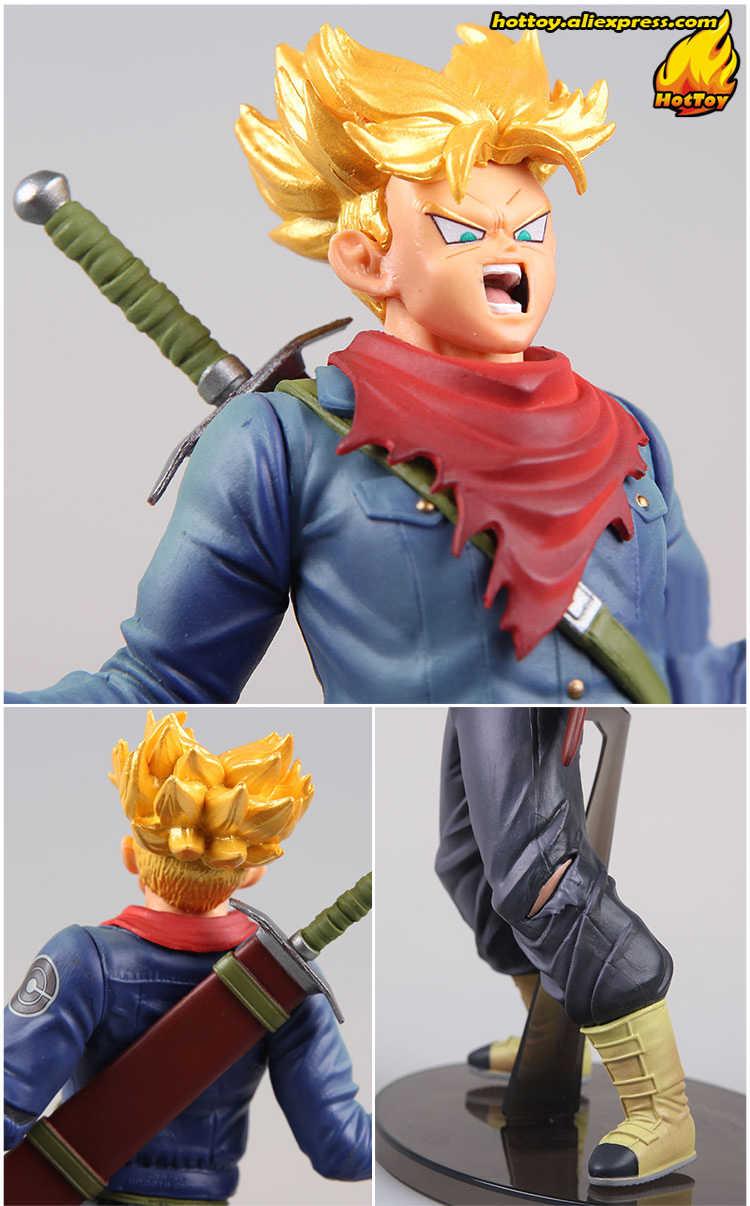 """Original Banpresto FIGURA MUNDIAL COLISEU Tenkaichi Budoukai vol.6 Coleção Figura-Super Saiyan Trunks """"Dragon Ball Super"""""""