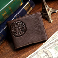 J.M.D Useful Genuine Leather Bifold Wallet Card Holder Purse 8010-3C