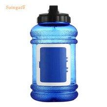 Saingace Sport Wasserflasche 2.2L Großraum Fitnesstraining Camping Lauf Workout Wasserflasche 1 STÜCK Botella de agua