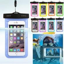 Универсальный Водонепроницаемый Чехол для сотовых телефонов, Портативная сумка, сумки для плавания, сухой Чехол