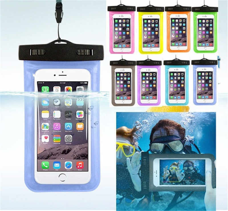 Universal Waterproof Pouch Case Cell Phones portable bag swimming bags dry case cover 2019