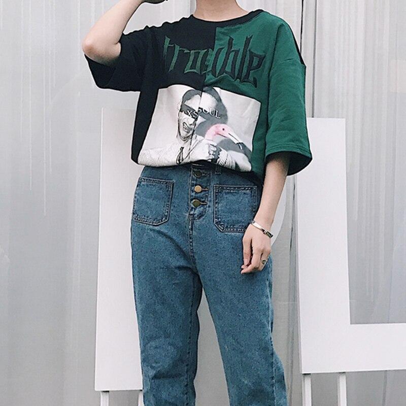 HTB1DLF9QVXXXXbpXFXXq6xXFXXXh - Kylie jenner Trouble T-Shirts Summer