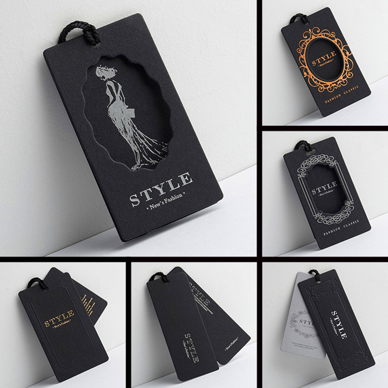 Fashion Customized Fancy High Grade Hang Tags for Clothing
