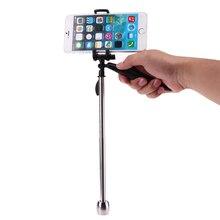 2in1 Карманный ручной стабилизатор видео Steadycam Камера подставка для телефона Камера для GoPro/для xiaoyi/для SJCAM Камера