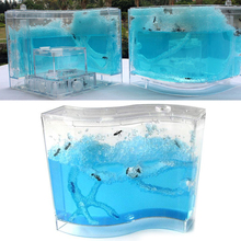 Educational Pet Toy Ant House 73 * 32 * 78mm Pet Terrarium Insects for Live Ants Sand and Voucher Children Colorful Kids 28 9 dollars shopping voucher