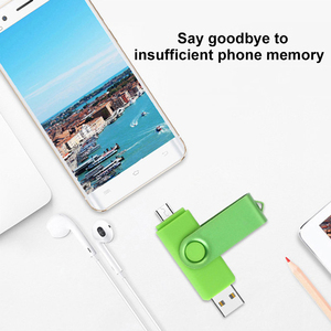 Image 5 - 2 IN 1 Flash Disk 64GB Pen Drive 8GB 4GB 16GB 32GB Pendrives OTG Memory Stick For Android Phone Notebook Laptop PC Dropshipping