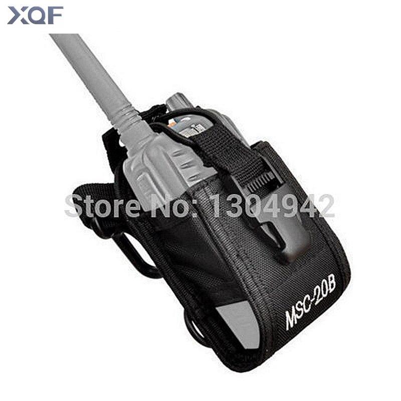 Baofeng Radio Case Holder MSC-20B Portable Pouch For Kenwood Yaesu ICOM Baofeng UV-5R Walkie Talkie TYT TH-F8+ Vextex