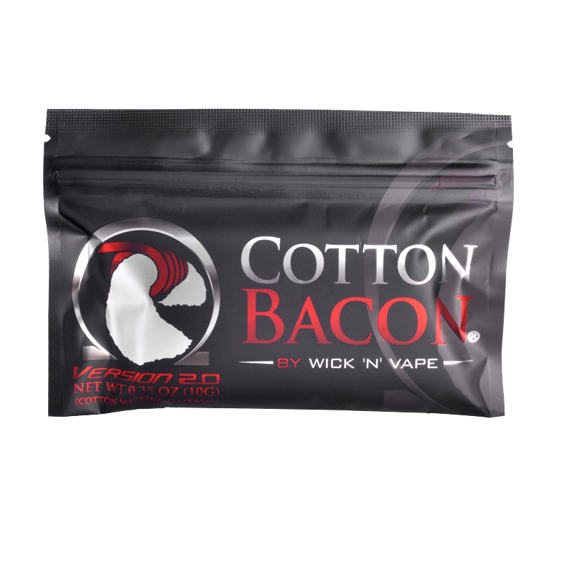 Organic Cotton 2.0 Cotton Bacon Vape Cotton Gold Version Bacon For Electronic Cigarette Rebuildable RDA RBA DIY Atomizer Vapor