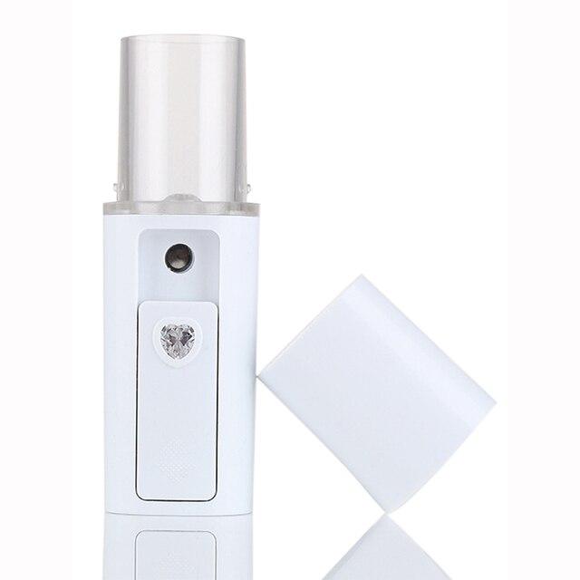 Portable 20ML Nano Mist Hydrating Facial steamer Spray spa Facial Mist Spray vaporizador facial de ozono portatil USB charging Facial Steamer