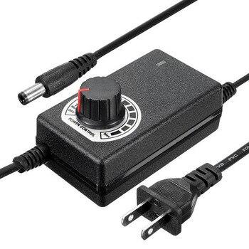 9-24V 1A 24W Einstellbare Netzteil Motor Speed Controller für LED Licht TV Laptop Lautsprecher UNS stecker -- WWO66