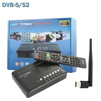 SATXTREM X800 HD DVB S2 Receptor Digital Satellite Receiver Decoder TV Tuner For PC+Wifi Antenna Support Cccam Newcam Biss Key