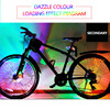 Leadbike New Bicycle Colorful Warning Light Magic Decorative Bike Cycling Wheel Spoke Lights Hot Wheel 6