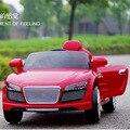 New toys r8 criança 4wd carro elétrico para as crianças a andar em bateria dupla com controle remoto carro elétrico para as crianças montar em toys car
