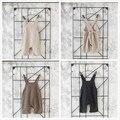 2016 New Fashion Babys Knitting Overall Autumn Winter Girls Thicken Suspender