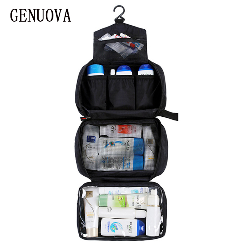 New Hanging Toiletry Bag Travel Toiletry Wash Organizer Kit For Men Women Cosmetics Make Up Sturdy Hanging Hook Shower Bags