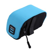 B-SOUL Bicycle Bag Rear Saddle Bag MTB Road Bike Seat Tail Pouch Under-seat Storage Pocket Accessories Ultralight