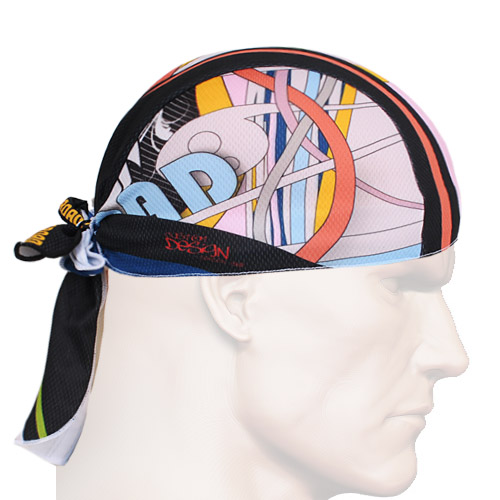 2016 Anti-sweat Cycling Bike Cap Sweatproof Sunscreen Headwear Scarf Coif Bicycle Pirate Headband Riding Hood Sports hat