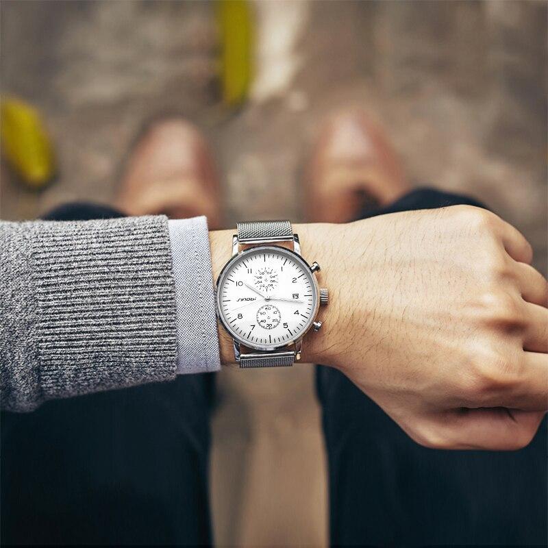 SINOBI 2017 Տղամարդկանց ժամացույցներ թոփ - Տղամարդկանց ժամացույցներ - Լուսանկար 2