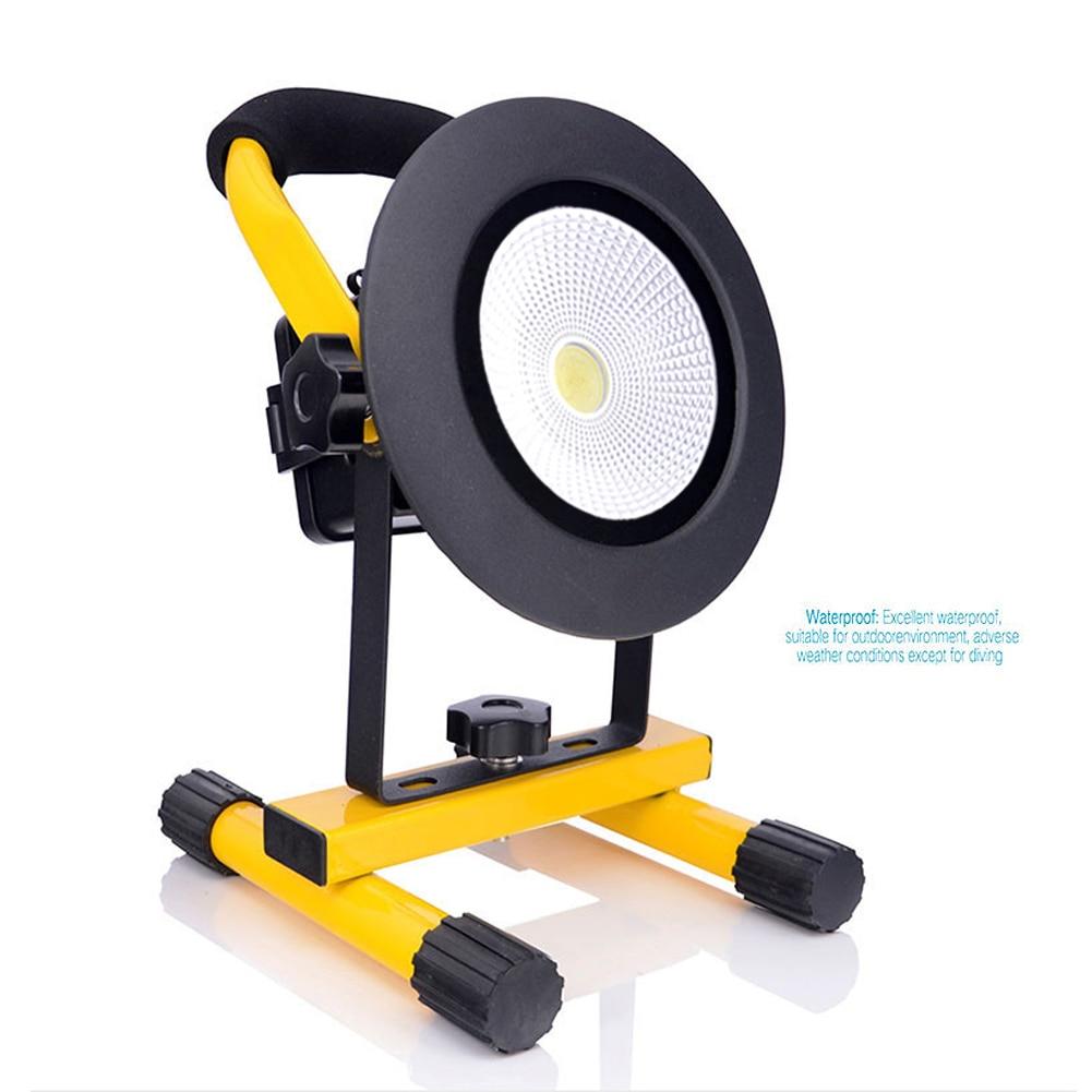ФОТО TSLEEN 30W OUTDOOR PORTABLE LED FLOOD LIGHT NIGHT WORK CARAVAN CAMPING LAMP SOS