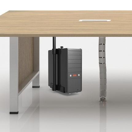 360 degree Universal Computer PC Case Holder Under Desk Hanging Adjustable Computer Mainframe Host Box Stand Bracket Rack Tray computer case