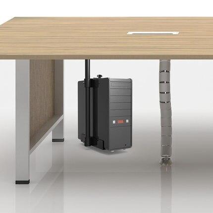 360 Grad Universal-pc Fall Unter Schreibtisch Cpu Stehen Hängen Einstellbare Computer-mainframe Host Box Stehen Halterung Rack-fach Erfrischung