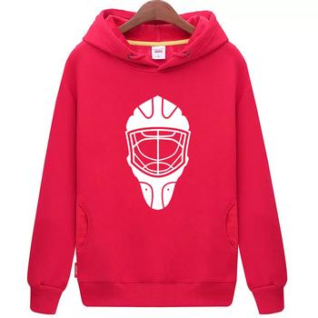Fajne hokej na lodzie darmowa wysyłka tanie młodzieży czerwone hokej na lodzie bluza z kapturem z hokeja na lodzie wzór maski tanie i dobre opinie Chłopcy Flexible Pasuje mniejszy niż zwykle proszę sprawdzić ten sklep jest dobór informacji cool hockey