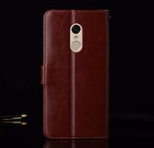 Original Xiaomi Redmi NOTE 4 Case Flip Wallet Genuine Leather Cover For Xiaomi Redmi NOTE 4X Case Xiaomi Redmi Note 4 Pro Prime