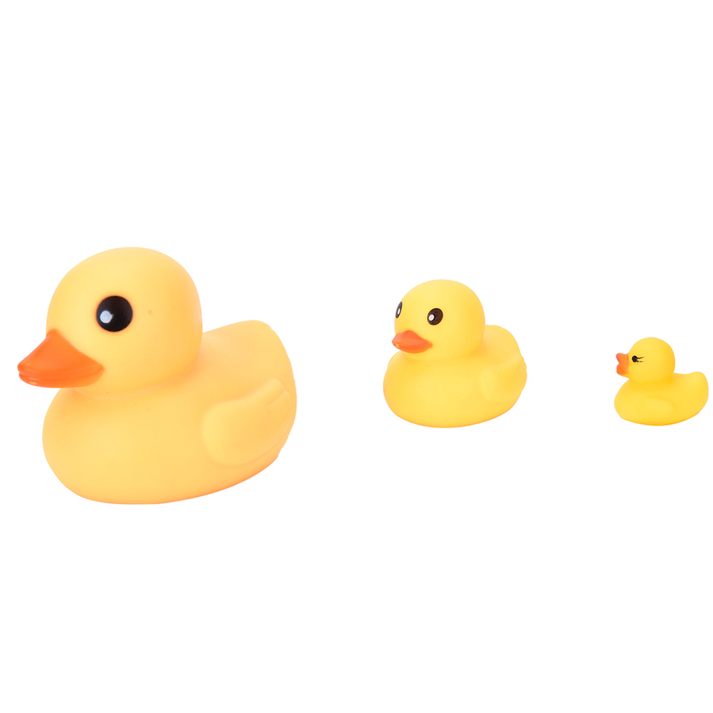 Classic Toy New Arrival Mini Bath Duck Sound Floating Rubber Ducks Squeeze-sounding Dabbling Toy Rubber Duck