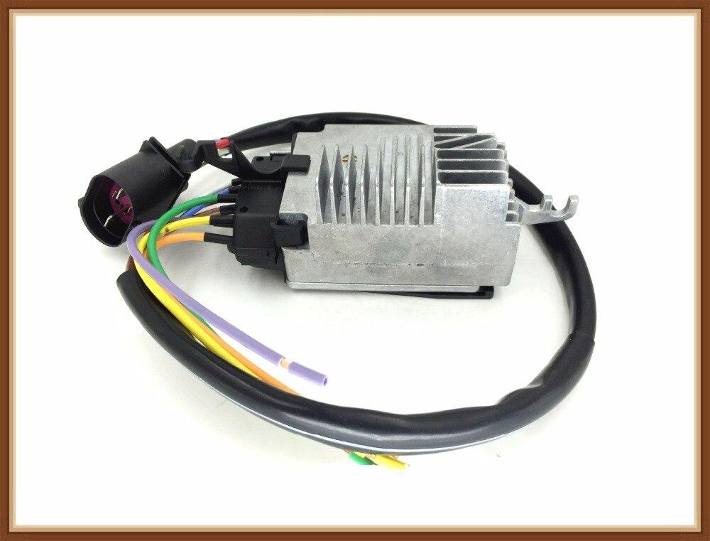 Radiator Cooling Fan Control module FOR Audi A6 C6 Skoda Octavia OEM NO. 4F0959501G 4F0 959 501G radiator cooling fan relay control module for audi a6 c6 s6 4f0959501g 4f0959501c