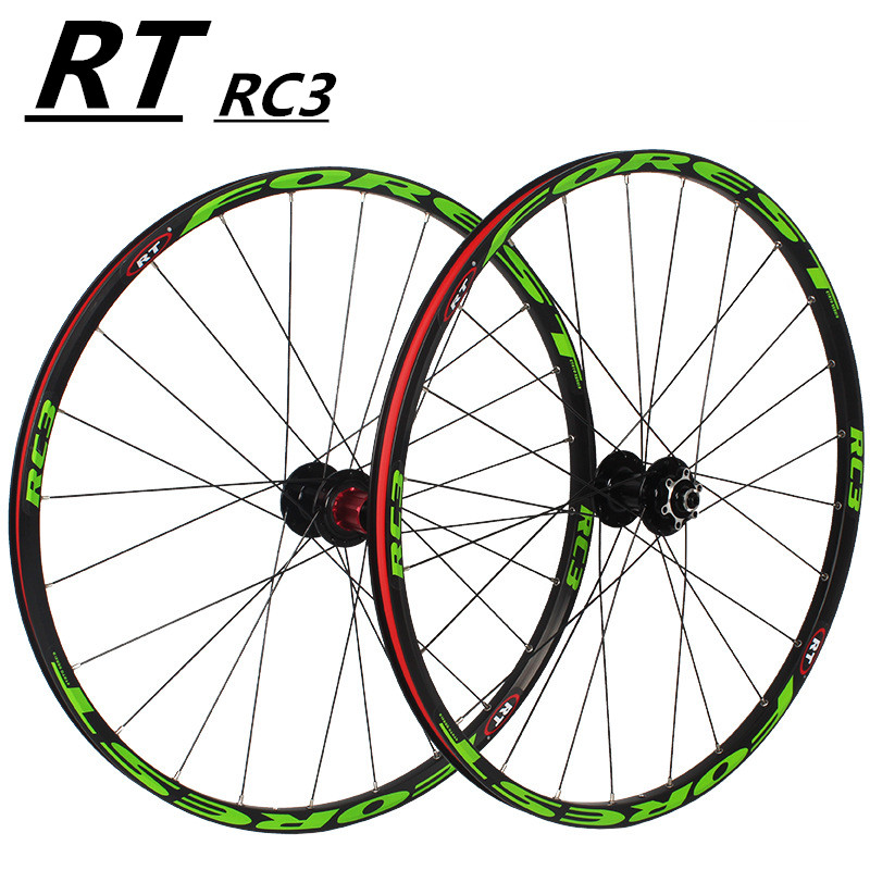 <font><b>RT</b></font> 26inch ultra light wheels sealed 5 bearing disc wheel <font><b>wheelset</b></font> 27.5inch MTB mountain bike wheels bicycle disc brake <font><b>wheelset</b></font> image