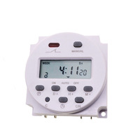 1pcs Lot 220V 110V 24V Timers Microcomputer Time Control Switch Time Control Switch Aliexpress Standard Shipping