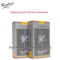 França vandoren cinza caixa v12 clássico clarinete reed