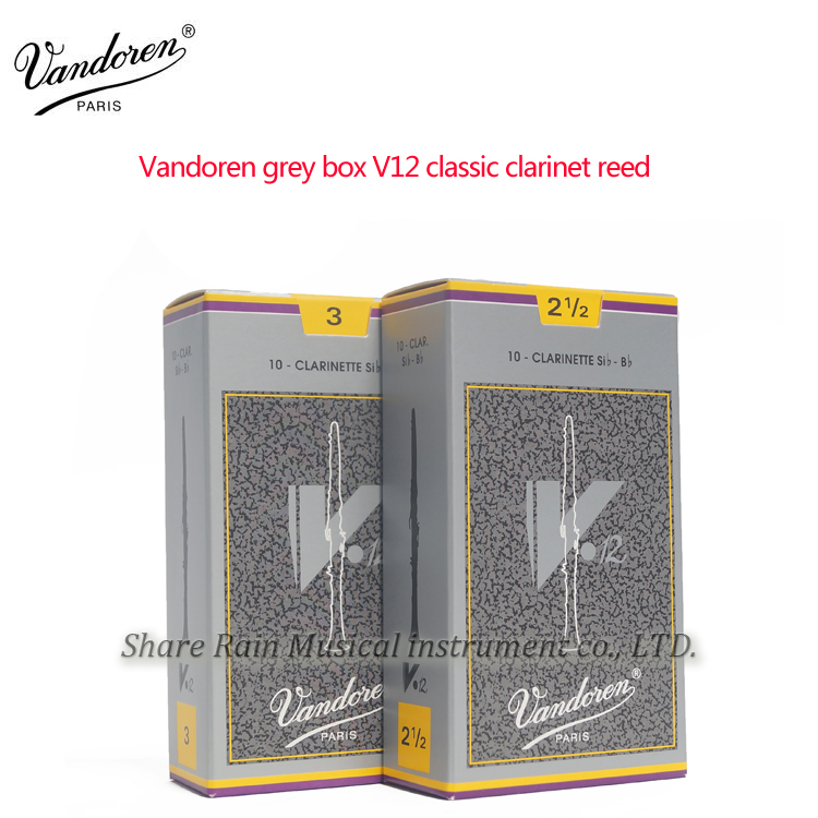 France Vandoren Grey Box V12 Classic Clarinet Reed