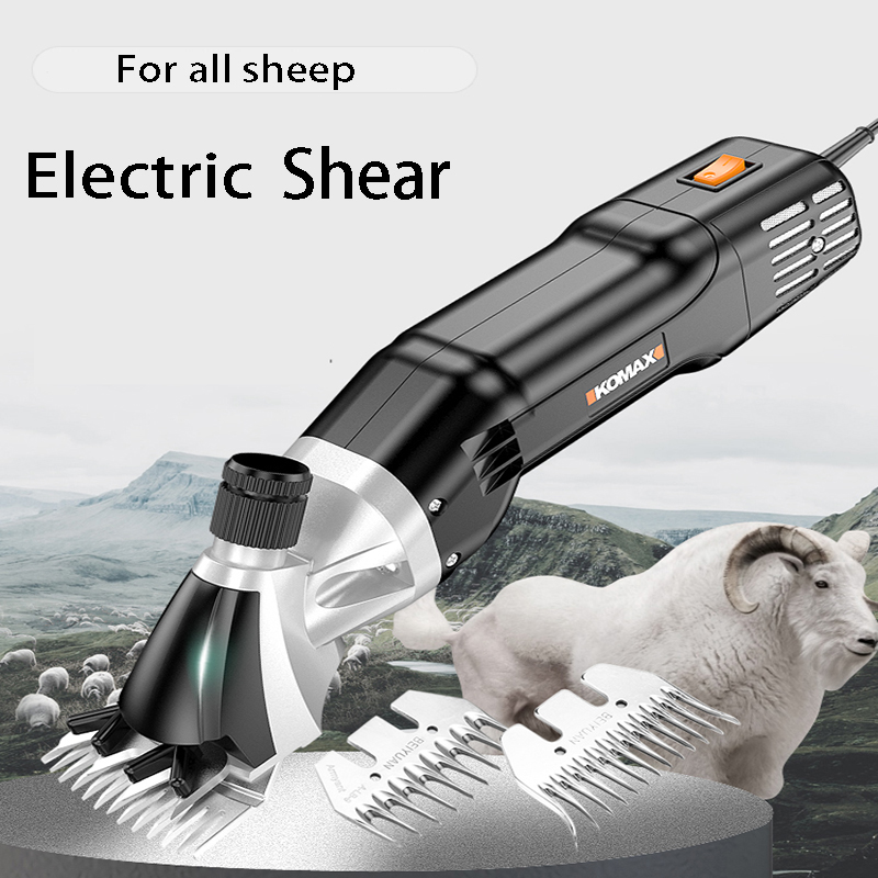 750W Electric Farm Supplies Sheep Goat Shears Animal Shearing Grooming Clipper