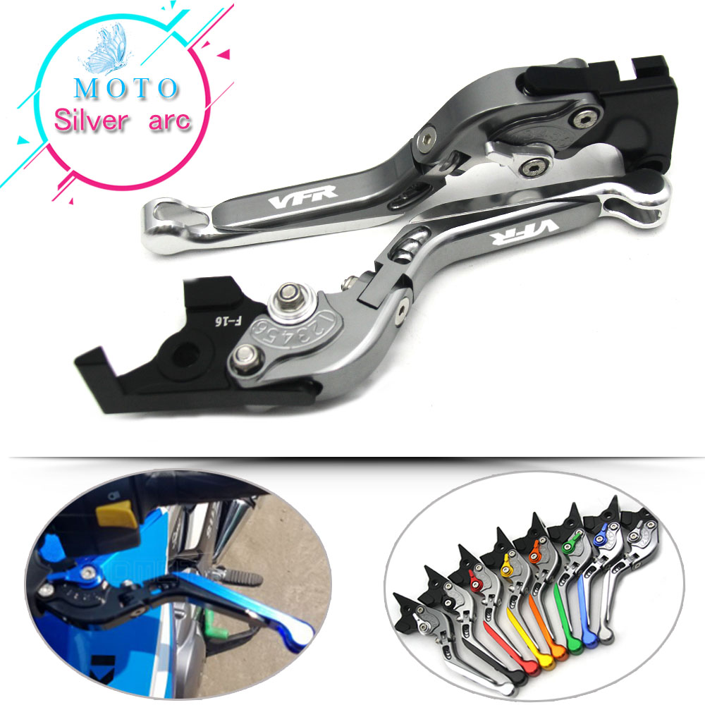 Фото Adjustable Folding Extendable Brake Clutch Lever For HONDA VFR800 VFR 800 1998 1999 2000 2001 Racing Free shipping Motorcycle
