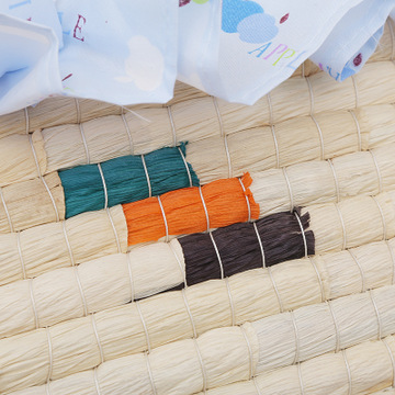Corn woven baby basket sleeping baby bed Baby Crib Protector For Newborns Room Decoration Portable Outdoor Bumpers For Newborn in Cradle from Mother Kids