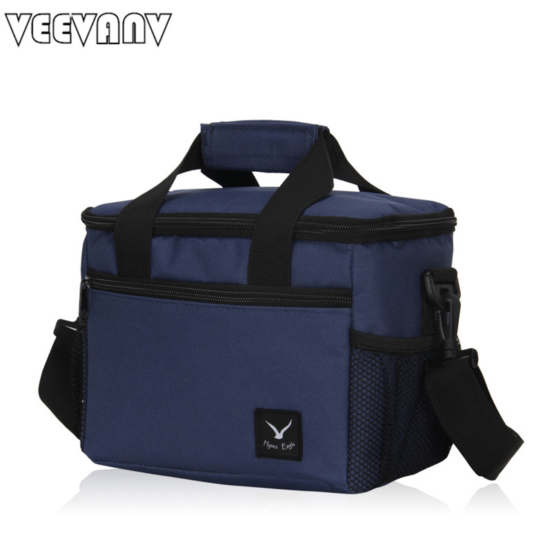 2017 VEEVANV Lancheira Thermo Lunch Bags <font><b>Cooler</b></font> Insulated Lunch Bags New Thermal Bag Lunch Box Food Picnic Package Tote Handbags