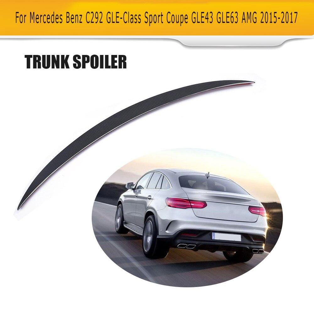 Posteriore Boot Lip Spoiler Ala per Mercedes-Benz C292 Berlina Sport AMG 4 Porta GLE Classe 2015-2017 non Standard di GLE300 GLE550 Spoiler