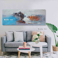 Abstract Beautiful Landscape View Canvas Painting Fashion Poster Print Strange Thing Wall Art For Living Room Cuadros Home Decor