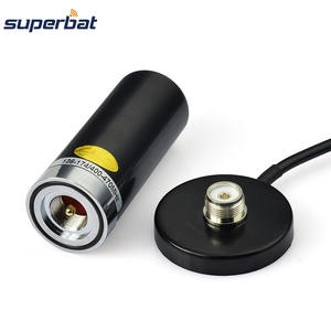 Image 3 - Superbat Vehicle/Car Mobile Radio VHF/UHF Dual Band Antenna 9cm Base Magnetic Mount BNC Plug 5M Cable for BC125AT Scanner