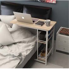 250307/Home bed with simple desk /High quality desktop/Thicker pipe/Folding mobile small desk/Lazy bedside laptop desk /